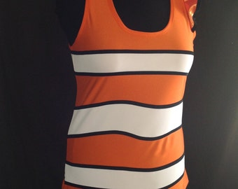 Nemo inspired running top