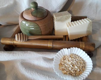 Oatmeal and Honey Bar