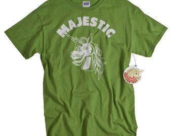 Unicorn Tshirt Majestic Geekery T Shirt Funny Geek T shirt Men Women Majestic Unicorn Shirt