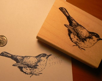 Bird rubber stamp  P15