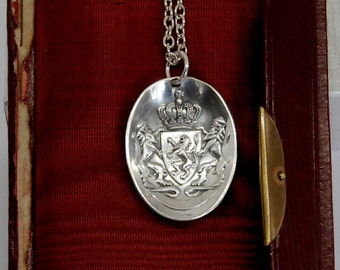 Leo belgicus necklace, Belgium necklace, Lion necklace
