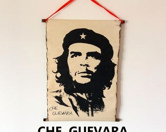 "Ernesto ""Che"" Guevara Poster Handmade Scroll Wall Art Home Decor Wall Decor"