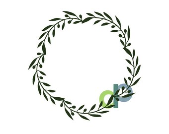 Full Olive Leaf Wreath-SVG file