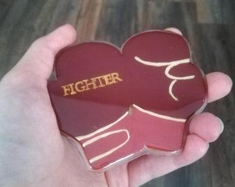 Fighter Brooch (Body Positive Power)