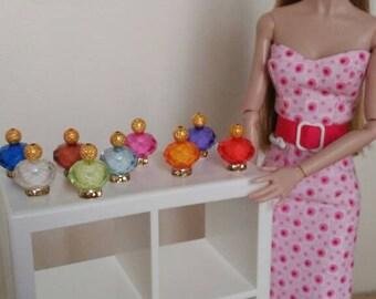 Perfume miniature 1:6 Barbie, blythe dolls