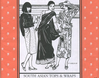 South Asian Tops and Wraps, Folkwear Pattern 134