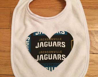 Jacksonville Jaguars Heart Bib