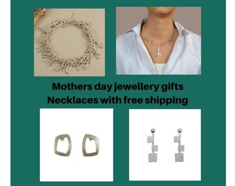 Mothers day jewelry gifts, necklaces for mom, free shipping choker, rings for mothers, earrings for mom, hoops for my mother, fancy bracelet
