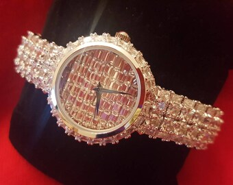 Diamonelle Stainless Steel Bracelet Link Ladies Watch
