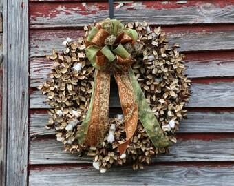 Brown Wreath Bow