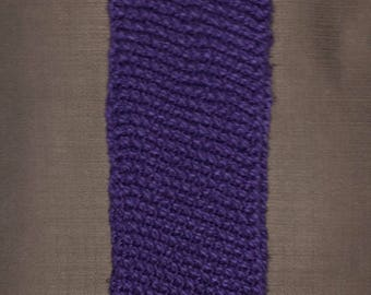 Purple Circular Scarf