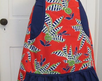 Beautiful Vintage Half Apron