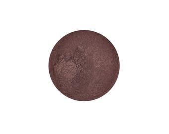 SAMPLE Coffee Bean- All Natural Mineral Eyeshadow (Vegan)(Semi-Matte)