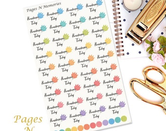 Housekeeper Today Planner Stickers/ Functional Stickers/Erin Condren /Plum Paper/ Inkwell Press/Sew Much Crafting  #258