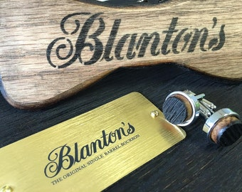 Blanton's Bourbon Barrel Stave Cufflinks