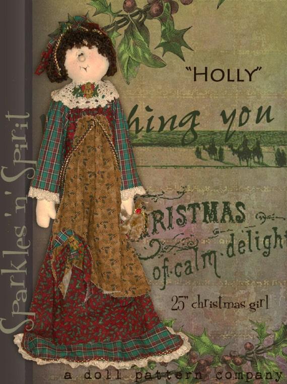 """Apak: Holly - 25"""" Christmas Girl"""