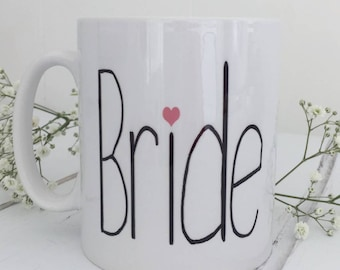 Bride | Bride Mug | Engagement Gift | Bride To Be Mug | Bride Gift
