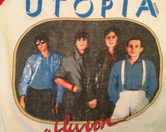 1984 Utopia Oblivion Tour Raglan T-shirt