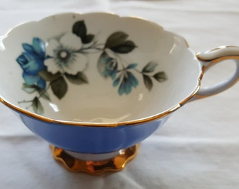 Vintage Royal Stafford Blue RoseTea Cup