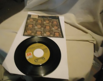 Vintage AM Records The Carpenters Yesterday Once More & Road Ode 45 rpm Record, collectable