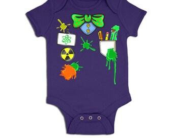Mad Scientist Costume baby grow