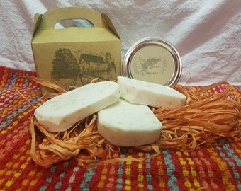 Goat Milk and Shea Butter Green tea soap