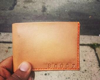 Handmade Men's Bifold Wallet
