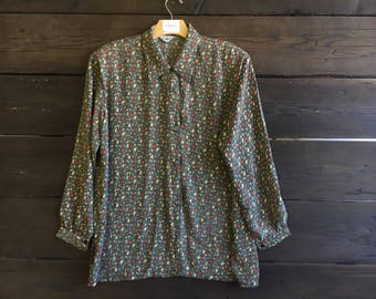 Vintage 90's Tulip Button Up