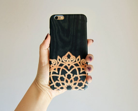 iPhone 8 Plus Case TOUGH iPhone 8 Case boho iPhone 7 Plus Case Mandala iPhone 7 Case wood iphone 6 case Galaxy Note 8 Case iPhone X Case
