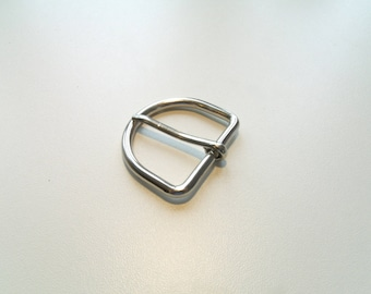 Belt buckle and/or strap Silver 3.8 cm * 3 cm * 3.3 cm