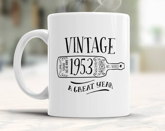 65th Birthday, 1953 Birthday, 65th Birthday Gift, 65th Birthday Idea, Vintage, 1953, Happy Birthday, 65th Birthday Present for 65 year old!