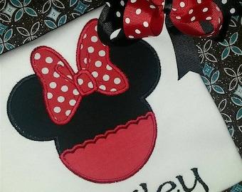 Personalized Minnie Mouse Shirt - Disney Shirt - Minnie Mouse Disney Shirt