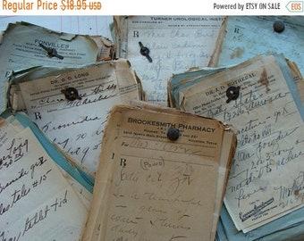 ONSALE Antique Medical Rx Prescriptions 1930s to 1960s Bundle Lot