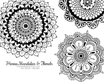 Henna Flower Patterns On Paper Barca Fontanacountryinn Com