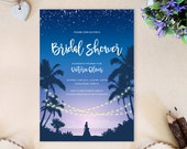 PRINTED Beach wedding sho...