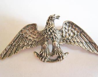 Silver Tone Angel Pin
