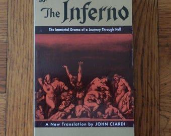 Vintage 60's The Inferno Dante Paperback Book 1960