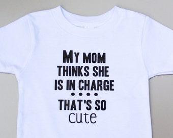 Funny Baby Shirt- Kids tshirt, Baby Clothes, Kids shirts, Baby Boy, Baby Girl, Personalized Kids Shirt, Kids T-shirts