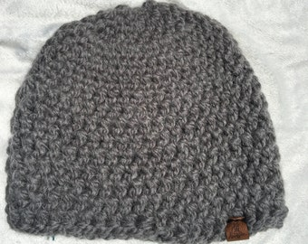 Basic Beanie Super Thick Yarn