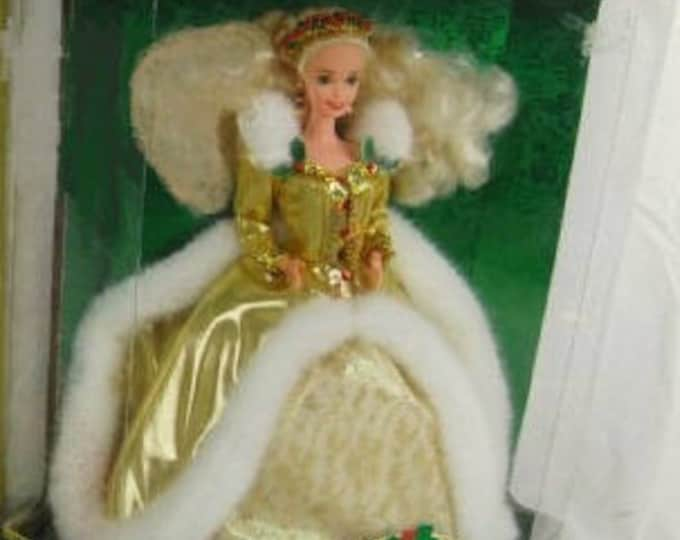 Barbie 1997 Holiday Barbie in the original Box- Unopened and New- with reduced shipping