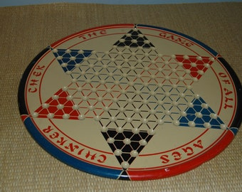 Vintage - Chinese Checker Board
