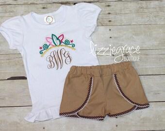 Princess Short Set, Pocahontas Inspired Outfit, Tiara Monogram, Disney Outfit, Pocahontas Outfit, Monogram Tiara, Disney Shirt