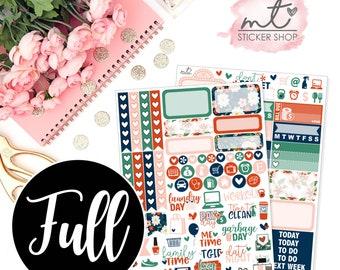 Palm Springs FULL Kit || Vertical || 150+ Planner Stickers || Erin Condren Life Planner
