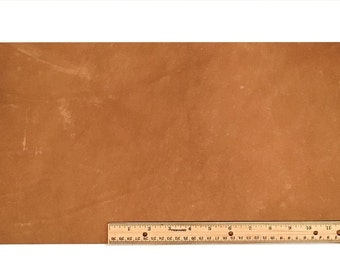 """Scrap Lace LEATHER LIGHT BROWN Cow 10"""" x 18"""""""