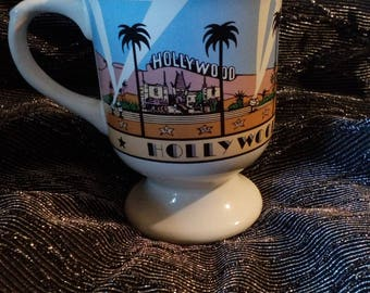 Clearance was15 now 7. 70s/80s California/Hollywood Mug by Karol Western