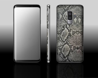 Samsung Galaxy S9 Plus Silver Viper Hyde Phone Skin Decal