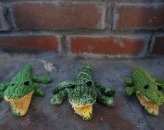 Knit Alligator/Crocodile
