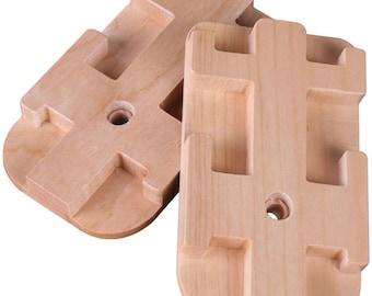 Ships Free! Second Heddle Kit for Ashford Rigid Heddle loom, or Ashford Knitters Loom. Extra Heddle Blocks.