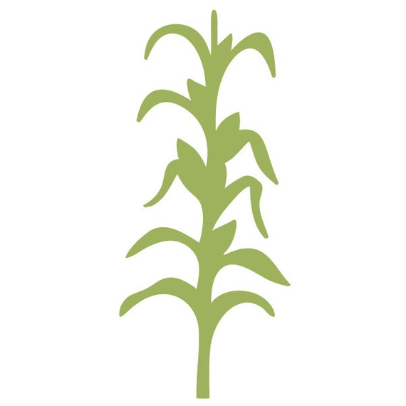 Cornstalk Wall Stencil for Painting Kids or Baby Room Mural