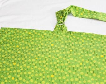 Green Dots Nursing Cover